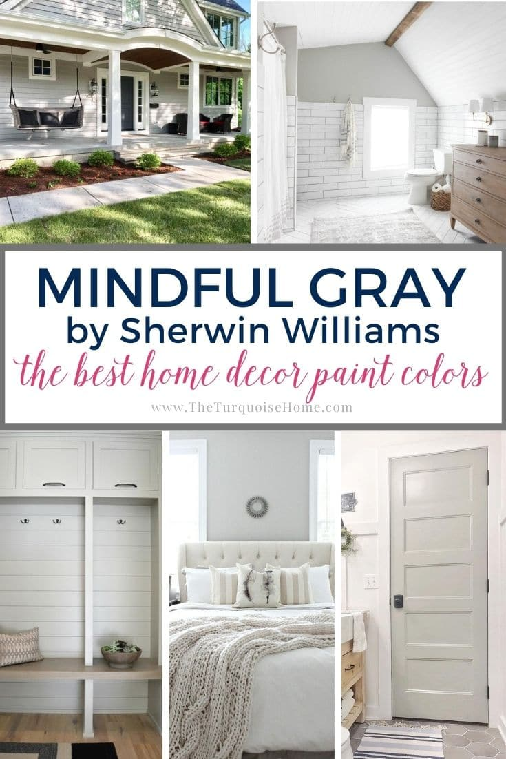 Mindful Gray Paint Color by Sherwin Williams