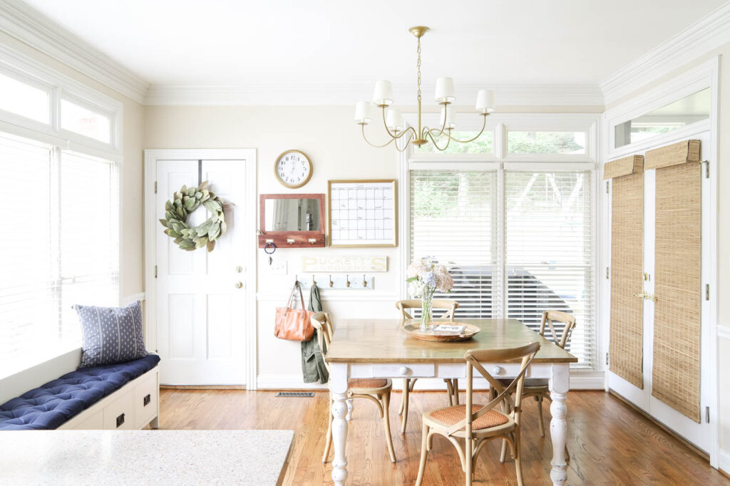 Classic Eat-In Kitchen Makeover Reveal