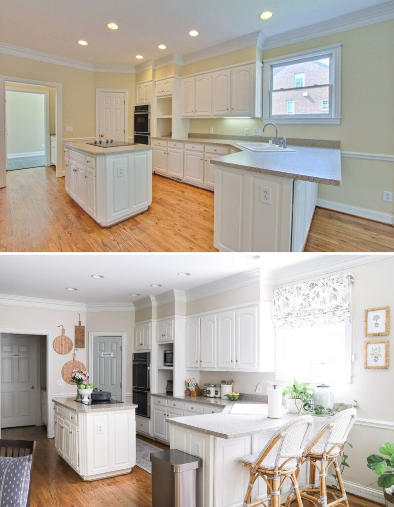 A Kitchen Refresh Before and After