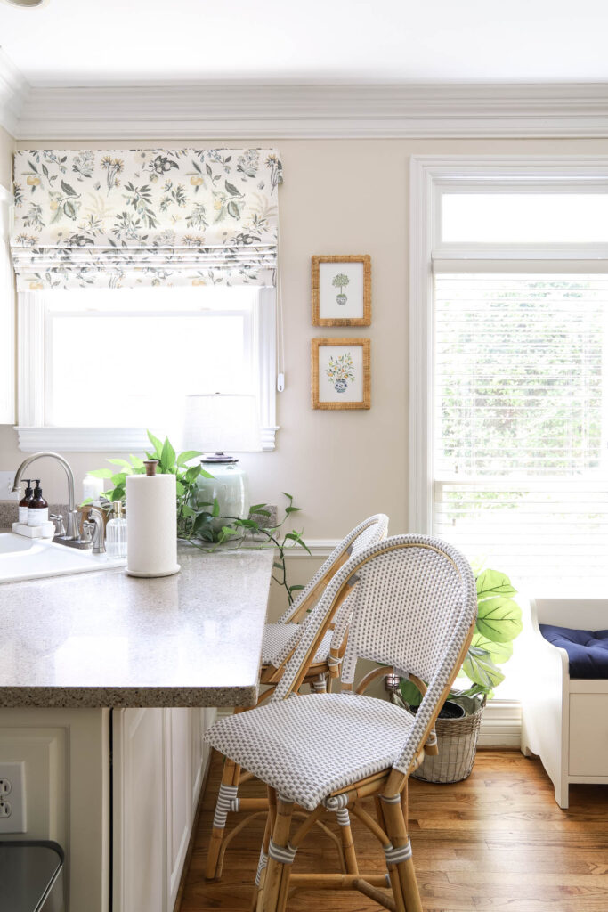 Kitchen Corner with Counter Stools