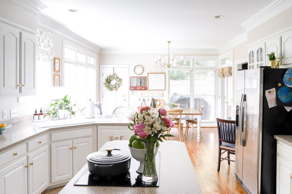 Bright and Airy Traditional Kitchen