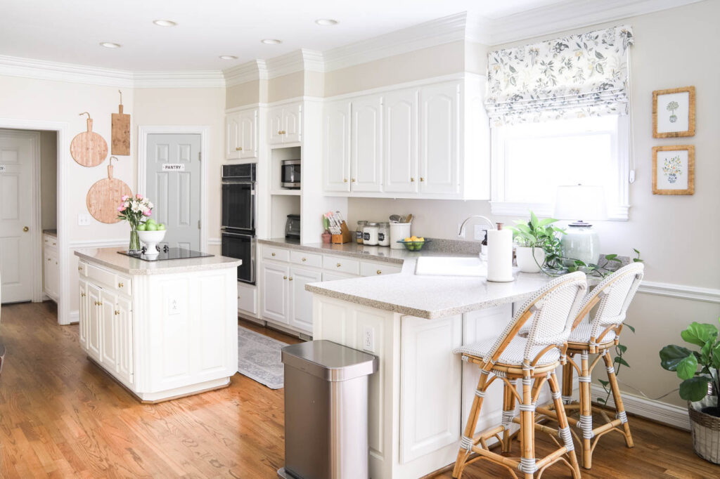 Bright and Airy Kitchen Refresh