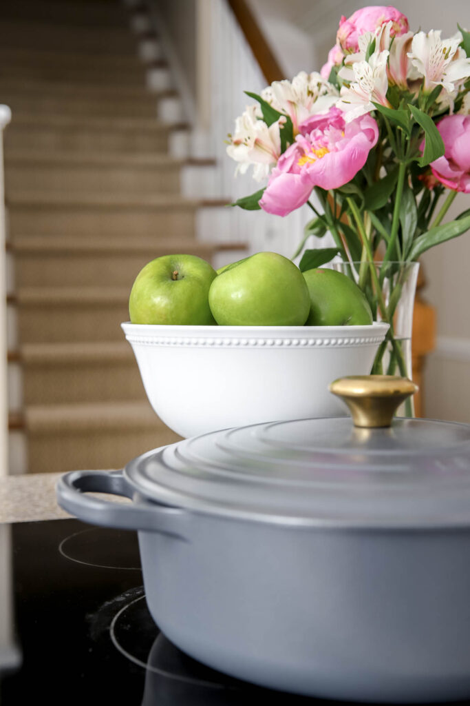 Le Creuset with Brass Handle