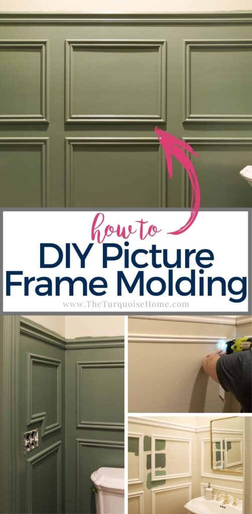 How to DIY Picture Frame Molding