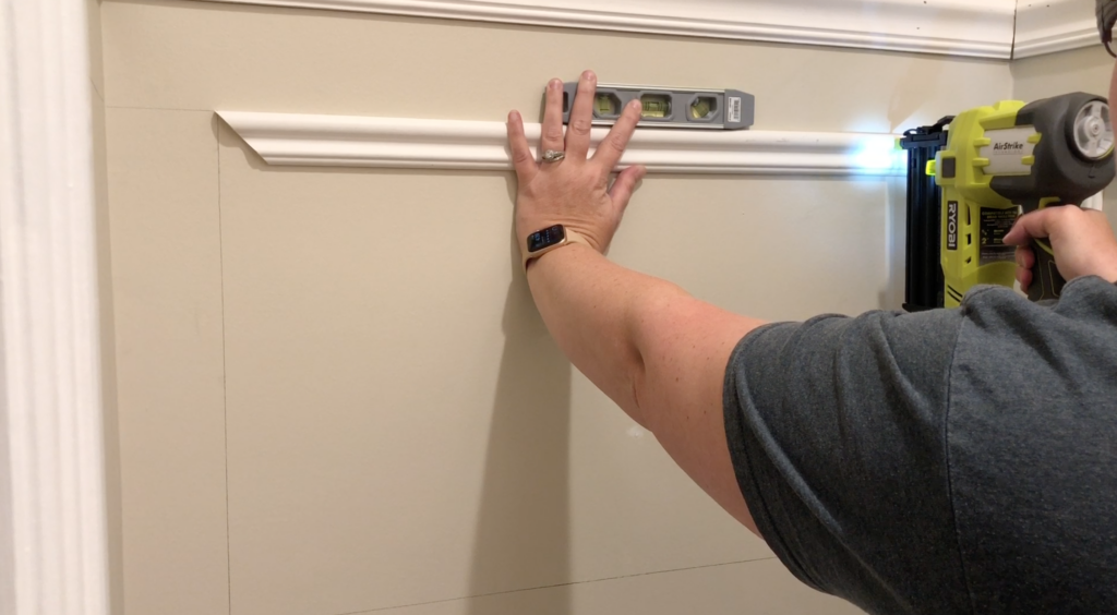 How to Install Trim on the Wall