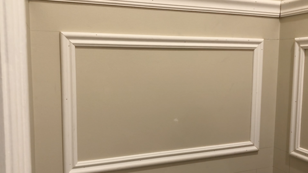 installing wall moulding