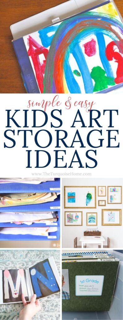 Kids Art Storage Ideas